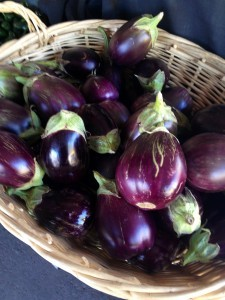 Local Grown Eggplant from Maya's Farm