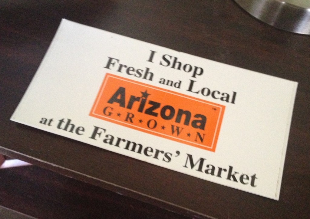 Arizona Grown Sticker