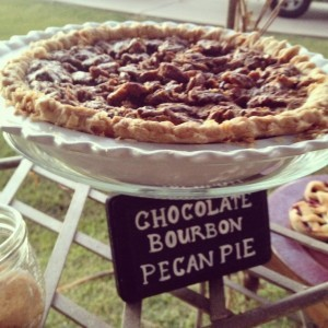 Matt's Favorite Chocolate Bourbon Pecan Pie